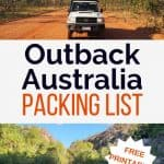 Outback Australia Packing Checklist