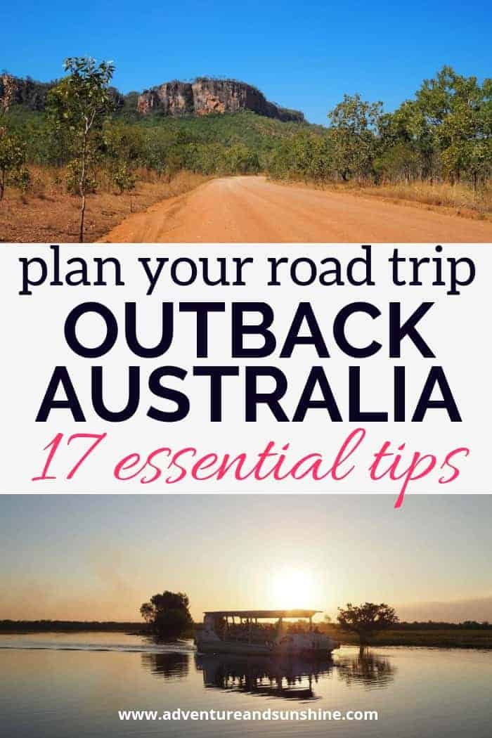 Outback Australia Road Trip Planner