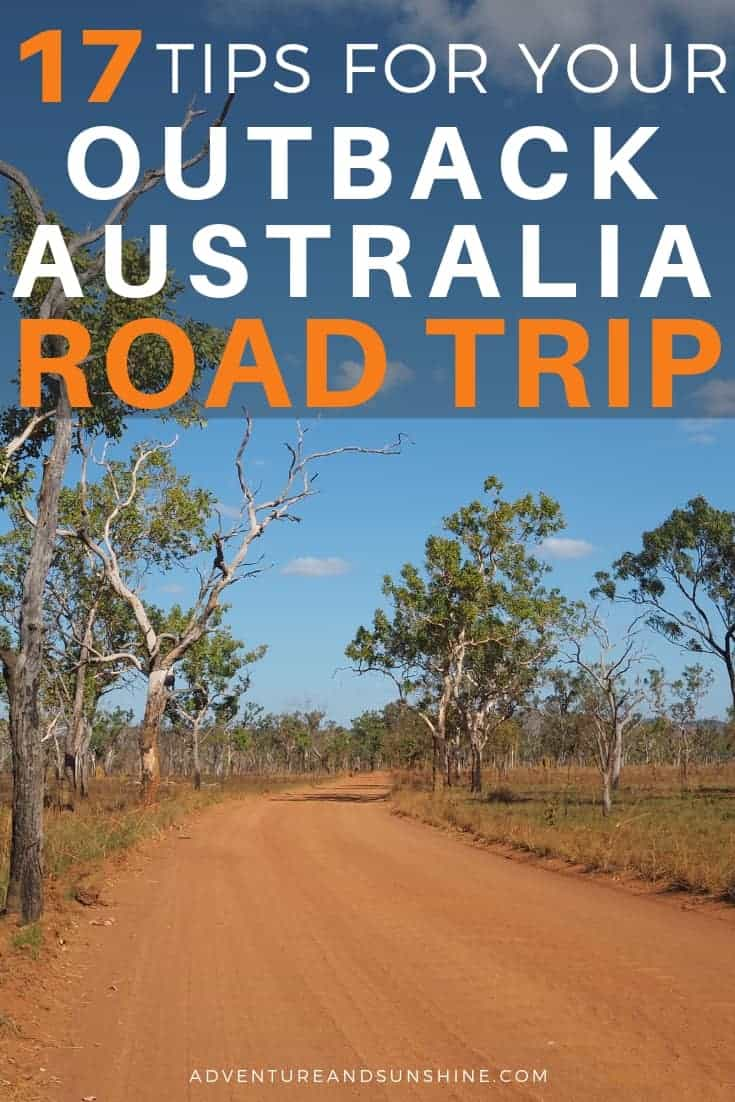 Outback Australia Road Trip Tips