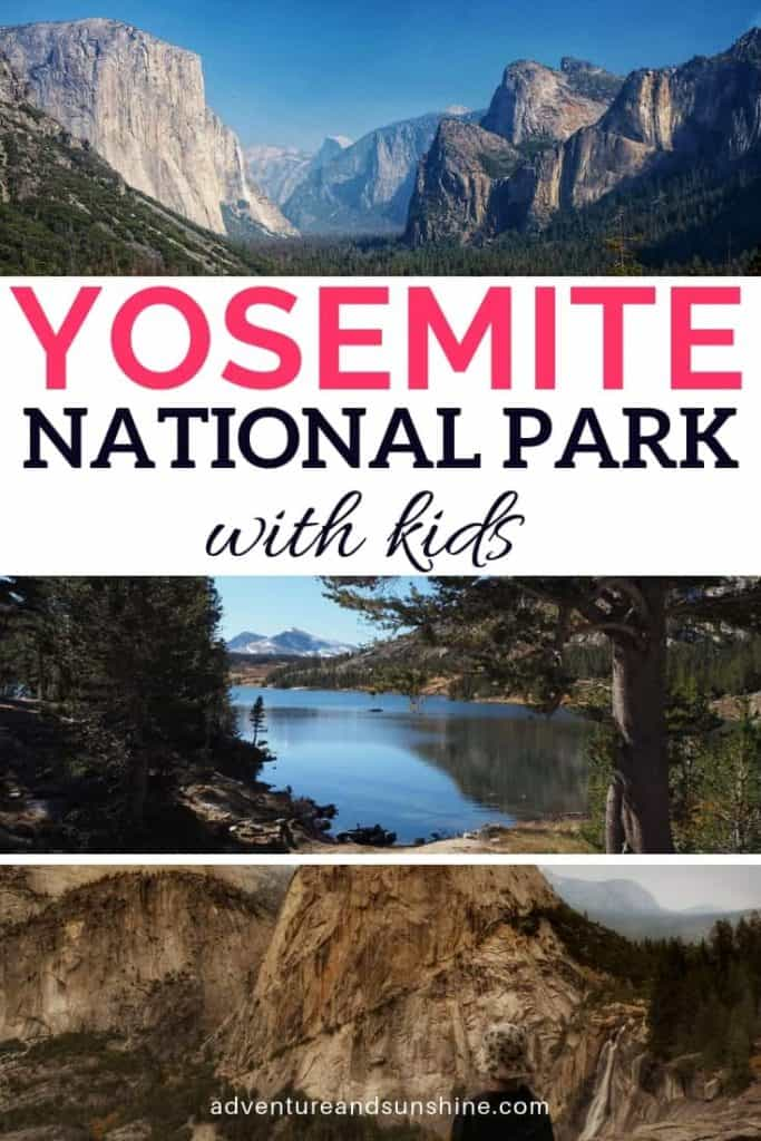 Things to do in Yosemite National Park with kids