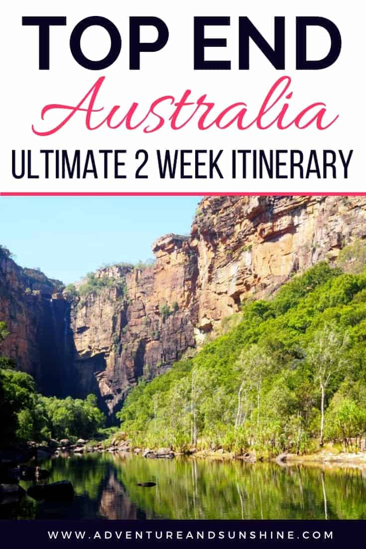 Northern Territory Itinerary