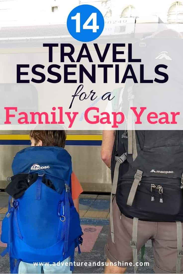 Travel essentials for a family gap year