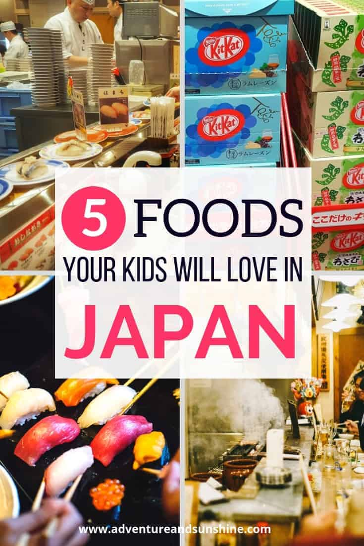 What to eat in Japan with kids