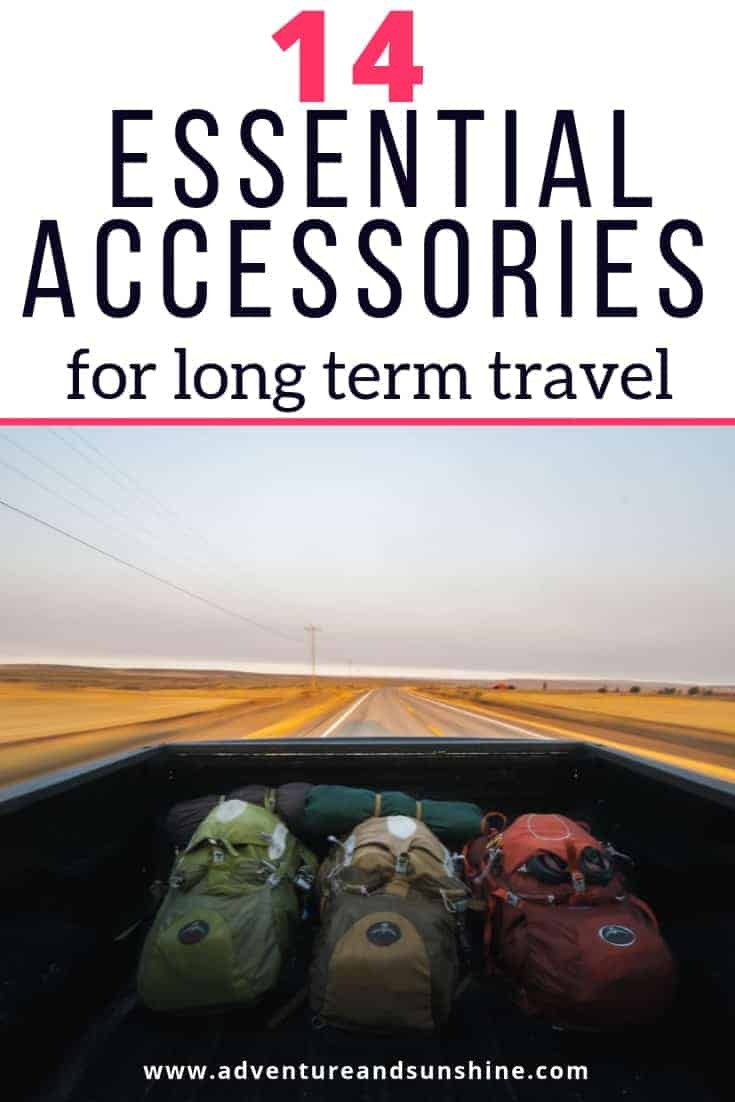 Travel essentials for long term travel