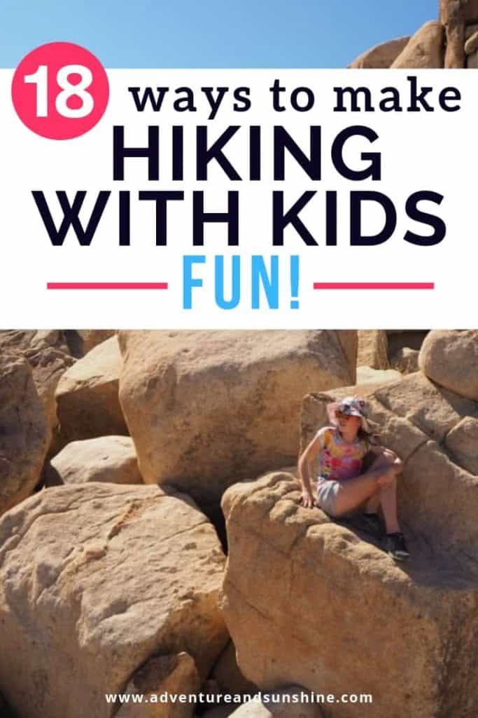 Hiking Tips for hiking with kids