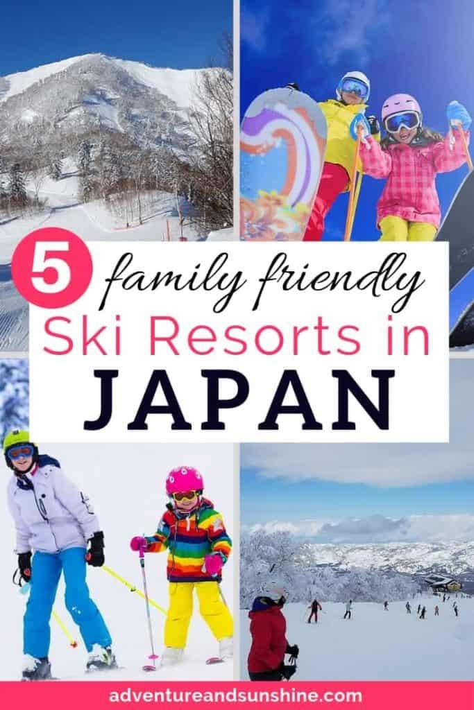 best Japan ski resorts family