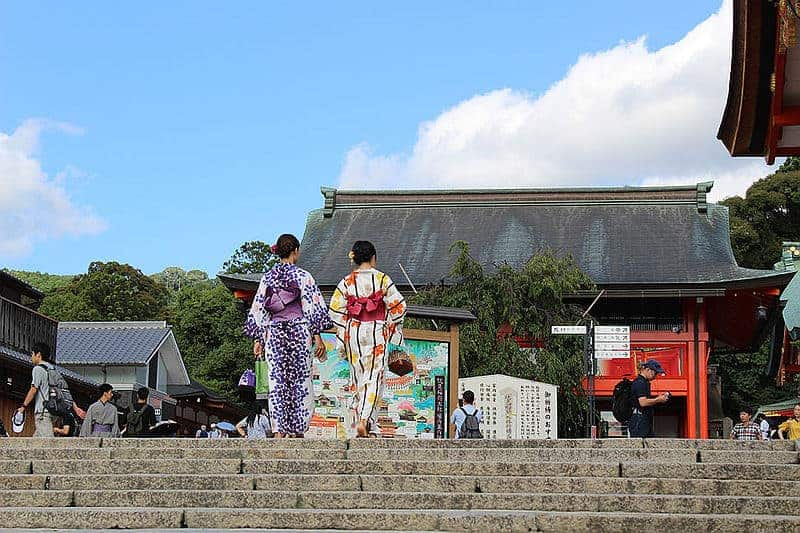 Kimono rental Kyoto - fun things to do in Japan