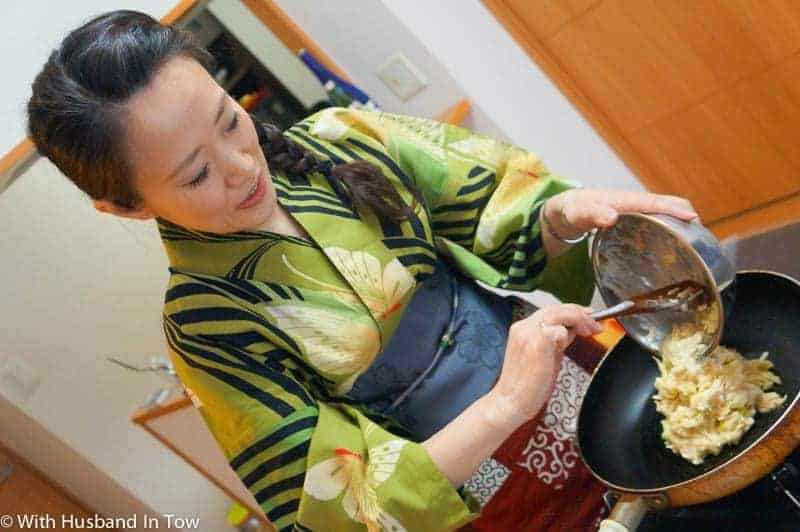 Osaka cooking class - non touristy things to do in Japan