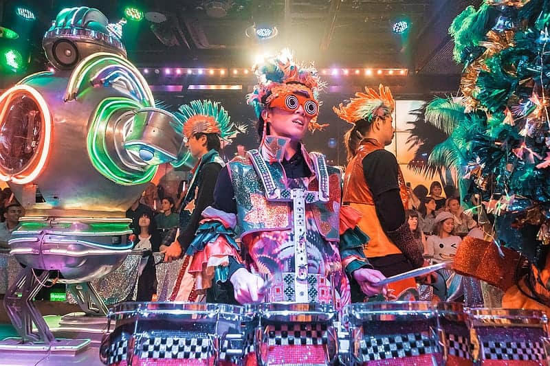 Tokyo Robot Restaurant - weird things in Japan