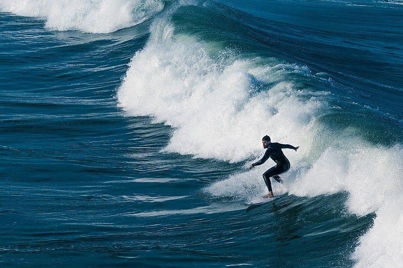 Surfing Hikkaduwa