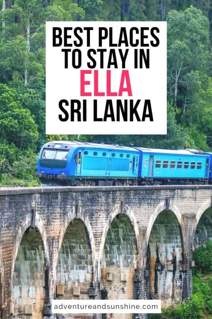 best places to stay in ella sri lanka