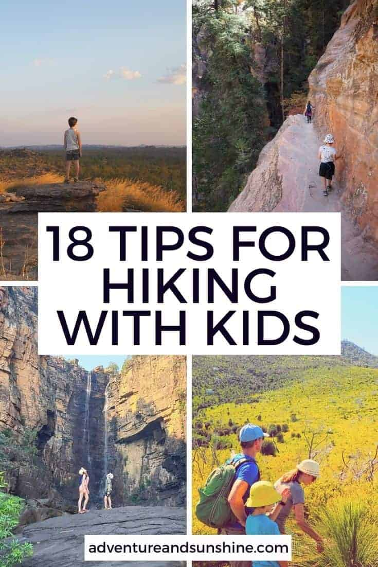 Tips for family hikes