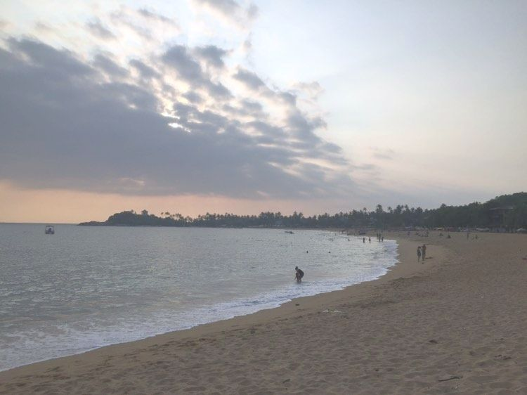 Unawatuna beach - sri lankan beach