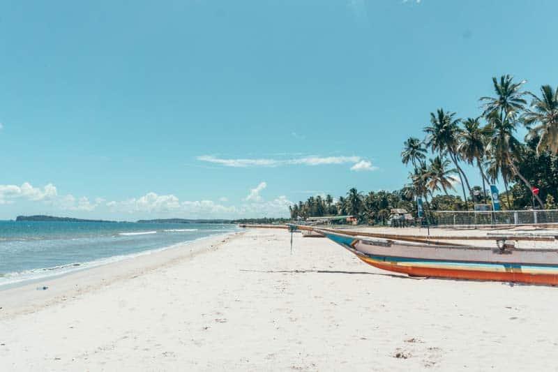 Uppuveli Beach near Trincomalee