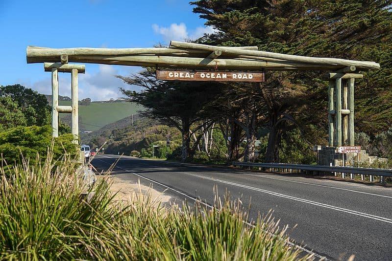 Great Ocean Road Victoria Historical Landmark