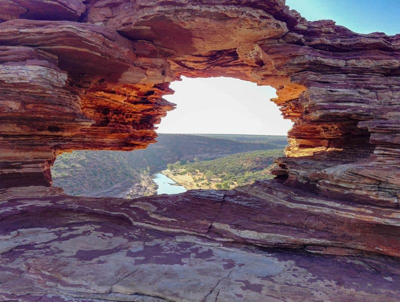 Nature's Window Kalbarri Western Australia.