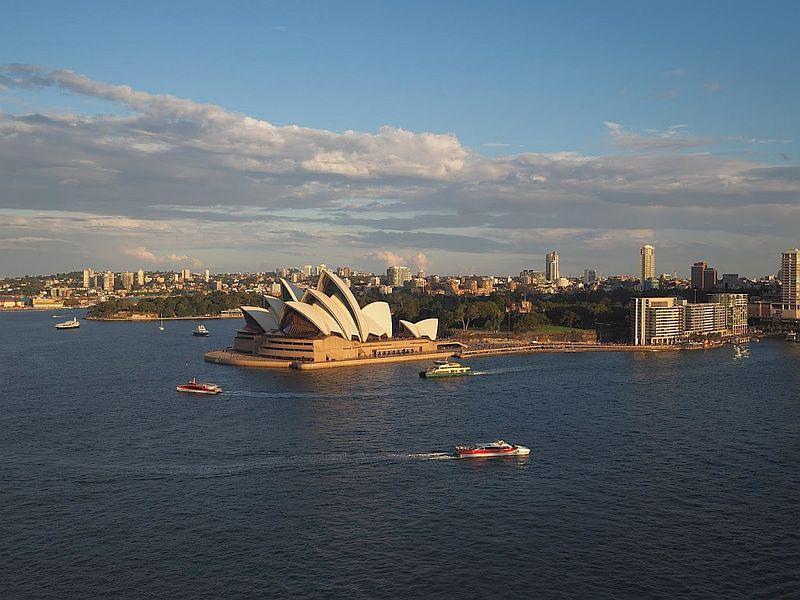 Sydney Opera House on Sydney Harbour