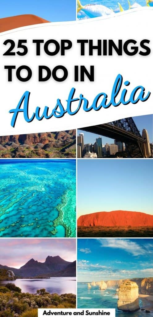 8 images of the top things to do in Australia
