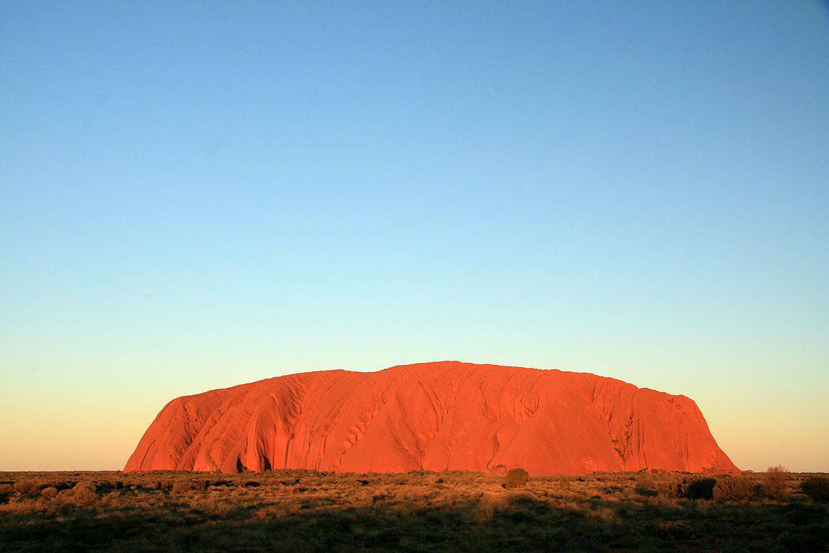 Uluru at Sunset