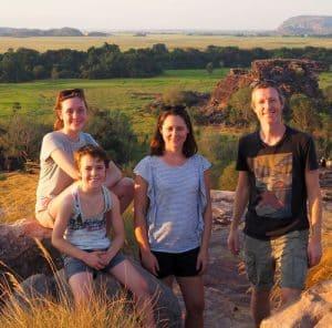Adventure and Sunshine Family shot