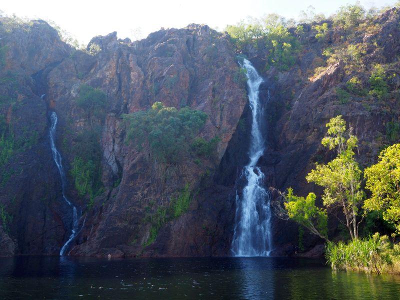 Wangi Falls in Litchfield National Park, Northern Territory.